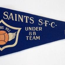 Soccer pennant, 1966