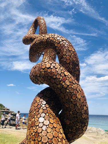 Ouroboros by Charlie Trivers (NSW, Australia).