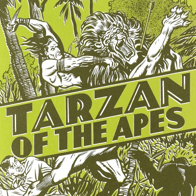 Tarzan of the Apes. From the cover of the 2014 Penguin edition.